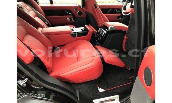 Acheter Importé Voiture Land Rover Range Rover Noir à Import - Dubai, Bamingui-Bangoran