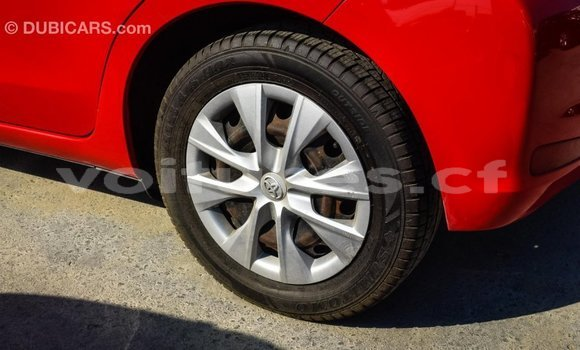 Acheter Importé Voiture Toyota Yaris Rouge à Import - Dubai, Bamingui-Bangoran