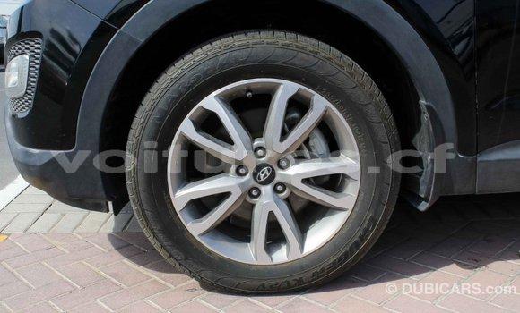 Acheter Importé Voiture Hyundai Santa Fe Noir à Import - Dubai, Bamingui-Bangoran