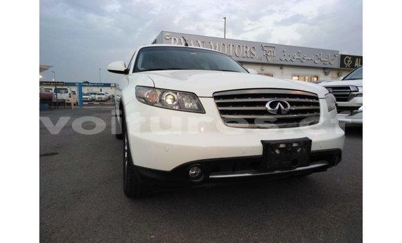 Acheter Importé Voiture Infiniti FX Blanc à Import - Dubai, Bamingui-Bangoran