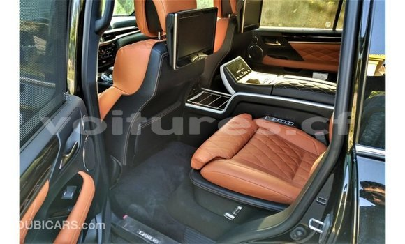 Acheter Importé Voiture Lexus LX Noir à Import - Dubai, Bamingui-Bangoran