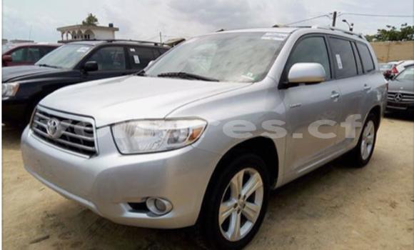 Acheter Occasions Voiture Toyota Highlander Gris à Bangui au Commune de Bangui